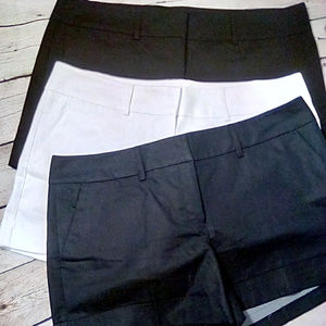 New York & Co. Lot of 3 size 16 cuffed shorts